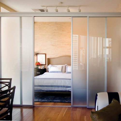 Using Sliding Doors as Room Dividers