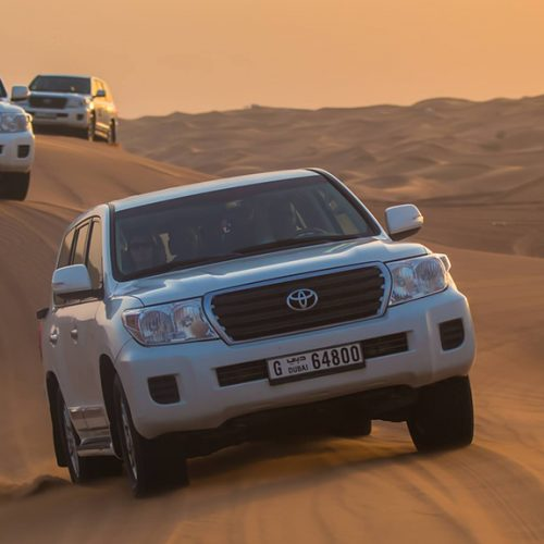 Types of desert safari that you can go for