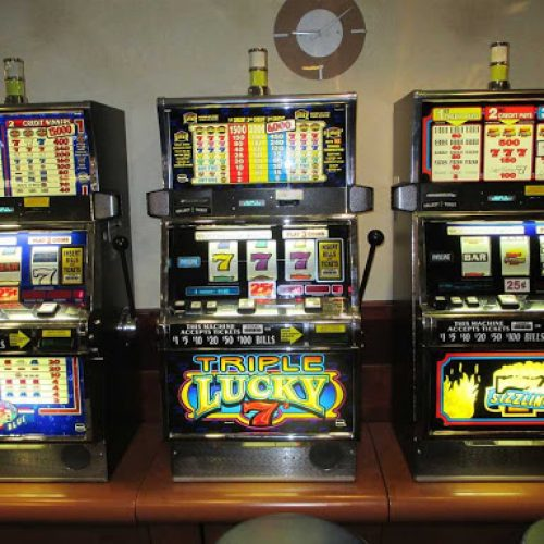 Cheat codes used in the context of slot machines